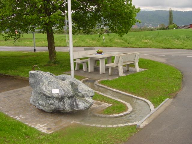 100-Jahr Brunnen Wasserversorgung Steinhausen